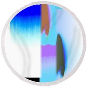 Abstract Fusion 220 Round Beach Towel