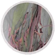 Abstract Nature 14 Round Beach Towel