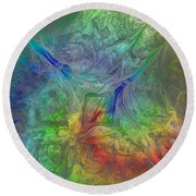 Abstract Of Dreams Round Beach Towel