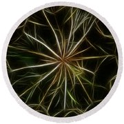 Abstract Of Nature 2 Round Beach Towel