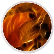 Abstract Of Nature 4 Round Beach Towel