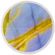 Abstract Of Picasso Jasper Round Beach Towel