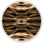 Abstract Pattern 4 Round Beach Towel