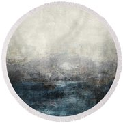 Abstract Print 9 Round Beach Towel