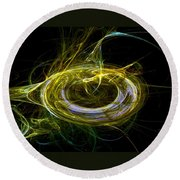 Abstract - The Ring Round Beach Towel