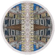 Abstraction 120 Round Beach Towel