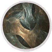 Abstraction 244-03-13 Marucii Round Beach Towel