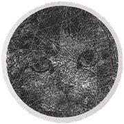 Abstraction 423 - Marucii Round Beach Towel