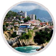 Acapulco Round Beach Towel
