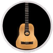 Acoustic Play Round Beach Towel