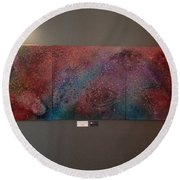 Across The Universe Round Beach Towel
