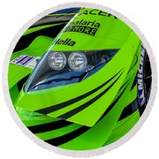 Acura Patron Car Round Beach Towel