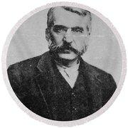 Adam Worth (1844-1902) Round Beach Towel
