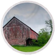 Adams County Barn 7d02923c Round Beach Towel