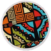 Perfect Imperfections IIv2 Round Beach Towel