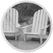 Adirondachairs Round Beach Towel