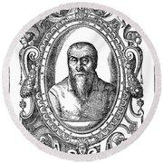 Adrian Willaert (1480-1562) Round Beach Towel