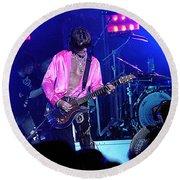 Aerosmith-joe Perry-00134-2 Round Beach Towel