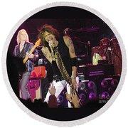 Aerosmith - Steven Tyler - Dsc00072 Round Beach Towel
