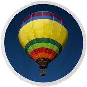 Aerostatic Balloon Round Beach Towel