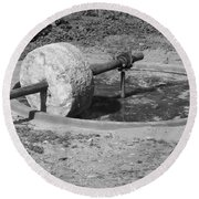 Agave Mill Round Beach Towel