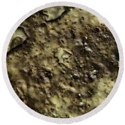 Aged Abstract Round Beach Towel