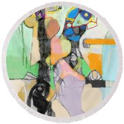 Self-renewal 17d Round Beach Towel