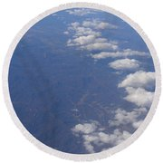 Ain't No Mountain High Enough Round Beach Towel