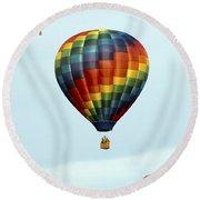 Air Balloons  0251 Round Beach Towel