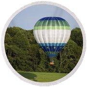 Air Balloons  0458 Round Beach Towel