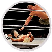 Air Cena Round Beach Towel