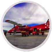 Air Greenland Round Beach Towel