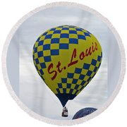 Air St. Louis Round Beach Towel