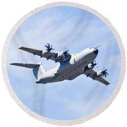 Airbus A400m Round Beach Towel