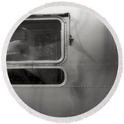 Airstream Round Beach Towel