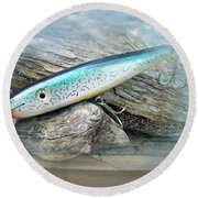 Ajs Baby Weakfish Saltwater Swimmer Fishing Lure Round Beach Towel