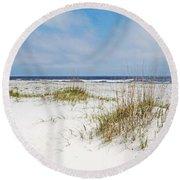 Alabama Point 2 Round Beach Towel