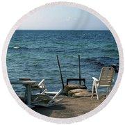 Alabodarna Skane Se 07 Round Beach Towel
