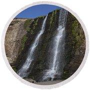 Alamere Falls Three Round Beach Towel