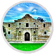 Alamo Round Beach Towel