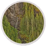 Alaska 8962 Round Beach Towel