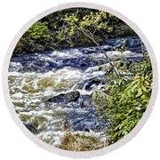 Alaskan Creek - Ketchikan Round Beach Towel