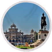 Albert Hall - Jaipur India Round Beach Towel