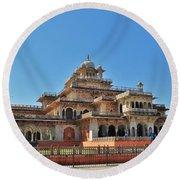 Albert Hall 3 - Jaipur India Round Beach Towel