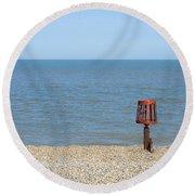 Aldeburgh Beach Round Beach Towel