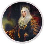Alexander Wedderburn(1733-1805) Round Beach Towel