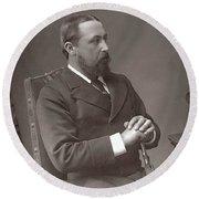 Alfred (1844-1900) Round Beach Towel
