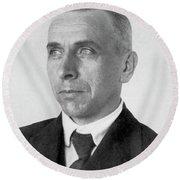 Alfred Lothar Wegener (1880-1930) Round Beach Towel