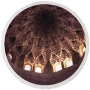 Alhambra Sculpted Domed Ceiling Round Beach Towel