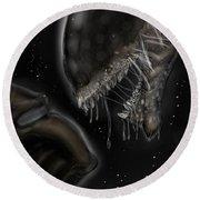 Alien Vs Predator Round Beach Towel